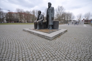 Marx and Engels, Berlin