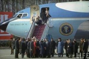 Nixon visits China, 1972