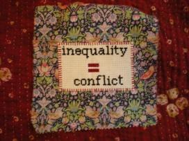 inequality conflict