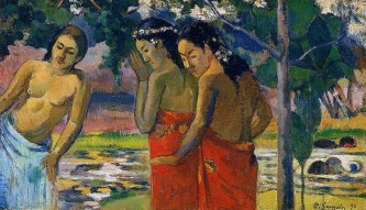 Gauguin, Three Tahitian Women